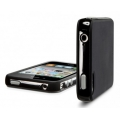 SGP Case Neo Hybrid-2 Color Series Soul Black for iPhone 4, 4S (SGP07773)