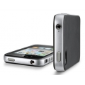 SGP Case Neo Hybrid-2 Matte Series Satin Silver for iPhone 4, 4S (SGP07772)