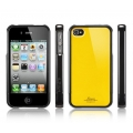 SGP Linear Case Color Series Reventon Yellow for iPhone 4, 4S (SGP07586)