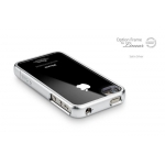 SGP Option Frame Satin Silver for Linear Series iPhone 4, 4S (SGP07736)