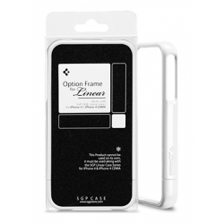 SGP Option Frame infinity White for Linear Series iPhone 4, 4S (SGP07738)