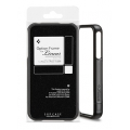 SGP Option Frame Smooth Black for Linear Series iPhone 4, 4S (SGP07741)
