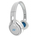 SMS Audio STREET by 50 Wired On Ear Headphones - White (SMS-ONWD-WHT)