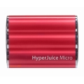 Sanho HyperJuice Micro 3600 mAh External Battery Red for iPad, iPhone, iPod (HJ36-RED)
