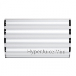 Sanho HyperJuice Mini 7200 mAh External Battery Silver for iPad, iPhone, iPod (HJ72-SILVER)