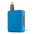 Scosche Lightning Cable boltBOX - Blue (I2BOXBL)