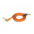 Scosche 3,5 Jack AUX Audio Cable flatOUT, 0.9M - Orange (AUX3FO)