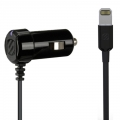 Scosche 2.4A Car Charger with Lightning StrikeDRIVE - Black (I2C12)