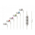 Scosche Increased Dynamic Range Chameleon Earphones with tapLINE II - White (IDR355M)