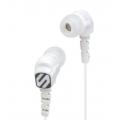 Scosche Noise Isolation Earbuds - White (HP200W)