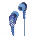 Scosche Noise Isolation Earbuds - Blue (HP200BL)