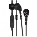 Scosche Noise Isolation Earbuds with slideLINE Remote & Mic - Black (HP253MD)