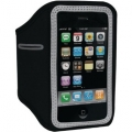 Scosche Sport Armband soundKASE for iPhone & iPod - Black/ Dark Silver (HFIPAB)