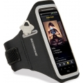 Scosche Sport Armband soundKASE for iPhone & iPod - Black/ Light Silver (HFDAB)