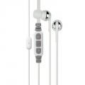 Scosche Premium Increased Dynamic Range Earphones with tapLINE III Control Technology - White (IDR65