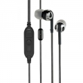 Scosche Premium Increased Dynamic Range Earphones with tapLINE III Control Technology - Black (IDR65