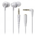 Scosche Increased Dynamic Range Chameleon Earphones with slideLINE Remote & Mic - White (IDR353M)