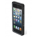 Scosche Aluminium Bumper railKASE for iPhone 5, 5S - Black (IP5RBK)
