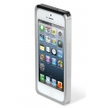 Scosche Aluminium Bumper railKASE for iPhone 5, 5S - Silver (IP5RS)