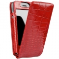 Sena Magnet Flipper Croco Red for iPhone 4
