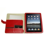 Simplism Flip Leather Case Deep Red for iPad (TR-LCFLIPAD-DR/EN)