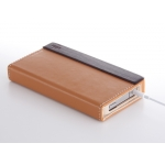 Simplism Flip Note Style for iPhone 4 Brown