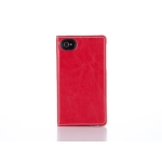 Simplism Flip Note Style for iPhone 4 Red