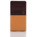 Simplism Vertical Clip Style for iPhone 4 Brown
