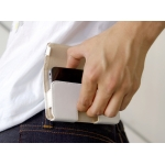 Simplism Belt Clip Style for iPhone 4 White