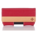 Simplism Belt Clip Style for iPhone 4 Red