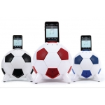Speakal miSoccer Red (2.1 Stereo iPod Docking Station 5 Speakers) (MISOCCER-RED)