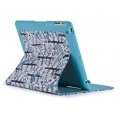 Speck FitFolio for iPad 4, iPad 3, iPad 2, Lovebirds Teal (SP-SPK-A1661)