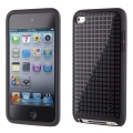 Speck PixelSkin HD Core Packaging for iPod Touch 4G - Black (SP-SPK-A0130)