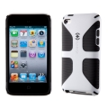 Speck CandyShell Grip Super Trooper for iPod Touch 4G, White (SP-SPK-A0140)