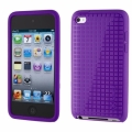 Speck PixelSkin HD for iPod Touch 4G, Purple (SP-SPK-A0132)