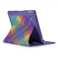 Speck FitFolio for iPad 4, iPad 3, iPad 2 - MegaPlaid Springtime (SP-SPK-A1663)