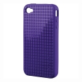 Speck PixelSkin HD Purple for iPhone 4