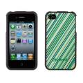 Speck Fitted Grasshopper Green Stripe for iPhone 4