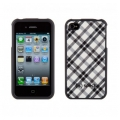 Speck Fitted Black and White Plaid for iPhone 4