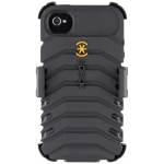 Speck ToughSkin Black Core 2 for iPhone 4, 4S (SP-SPK-A0815)