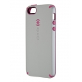 Speck CandyShell Pebble Grey&Raspberry Pink for iPhone 5, 5S (SP-SPK-A1562)