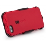 Speck ToughSkin Duo for iPhone 5, 5S - Pomodoro Red&Black (SP-SPK-A1860)