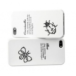 Star5 Insect Story Bee White for iPhone 5, 5S (with Swarovski)