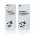 Star5 Insect Story Coccinella White for iPhone 5, 5S (with Swarovski)