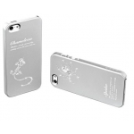 Star5 Insect Story Lizard Silver for iPhone 5, 5S (with Swarovski)