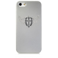 Star5 Pure Love Series Angel Wings Silver for iPhone 5, 5S (with Swarovski)