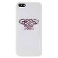 Star5 Pure Love Series Hearts Knot White for iPhone 5, 5S (with Swarovski)