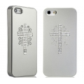 Star5 Pure Love Series Love's Cross Silver for iPhone 5, 5S (with Swarovski)