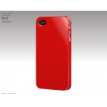 SwitchEasy Nude Red for iPhone 4 (SW-NUI4-R)