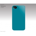 SwitchEasy Nude Turquoise for iPhone 4 (SW-NUI4-TU)
